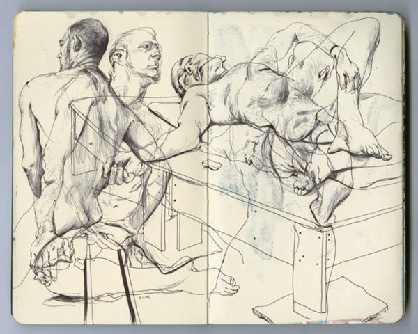 james jean  sketchbook drawings