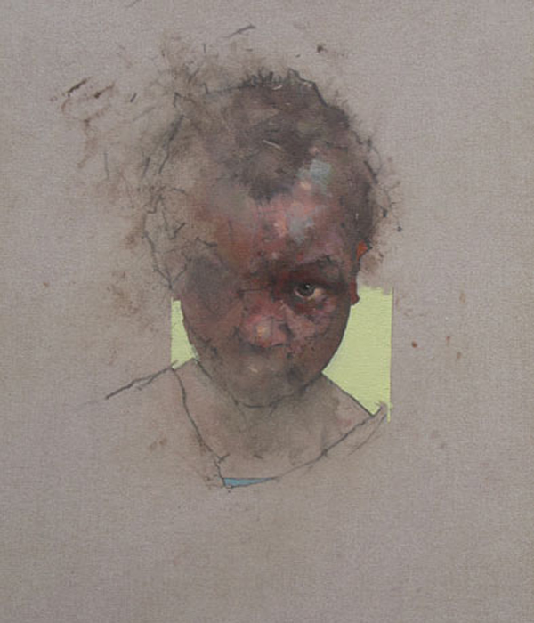 Nathan Ford Oil On Canvas These Quiet Sounds
