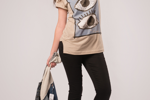 Double Eye T-Shirt 02