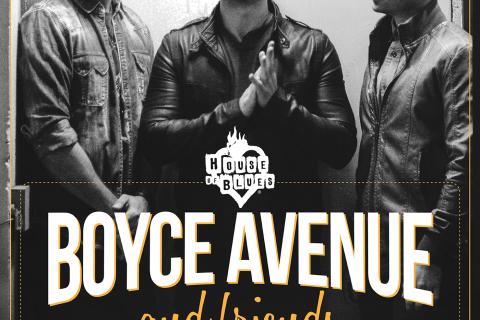 Boyce Avenue HOB Tour Poster